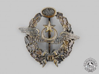 Turkey, Ottoman Empire. An Aviation Squadrons of the Ottoman Empire Pilot's Badge