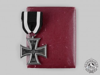 Germany, Imperial. A Cased 1914 Iron Cross II Class