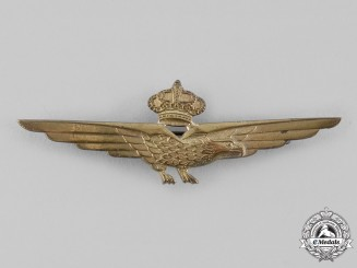 Italy, Kingdom. An Air Force Pilot's Badge, c.1942