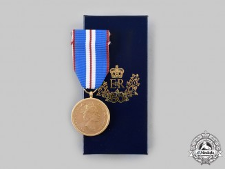 Canada, Commonwealth. A Queen Elizabeth II Golden Jubilee Medal 1952-2002