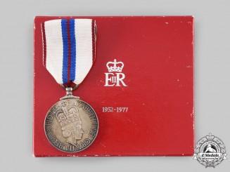 Canada, Commonwealth. A Queen Elizabeth II Silver Jubilee Medal 1952-1977