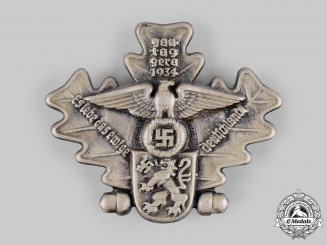 Germany, NSDAP. A 1934 Gautag Gera Commemorative Badge