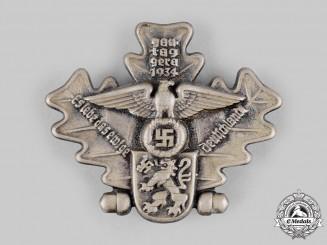 Germany, NSDAP. A 1934 Gautag Gera Commemorative Badge