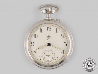 Germany, Imperial. A Kaiser Wilhelm II 25-Year Jubilee Commemorative Pocket Watch