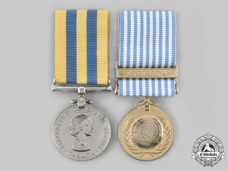 Canada, Commonwealth. A Korean War Pair, to V.W. Winter