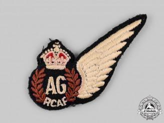 Canada. A Royal Canadian Air Force (RCAF) Air Gunner (AG) Wing