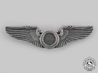 United States. An Australian-Made Army Air Force Observer Badge, by K.G.Luke Melbourne, c.1942