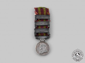 United Kingdom. An India Medal 1895-1902, Miniature