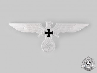 Germany, Third Reich. A Kyffhäuser League Visor Cap Eagle Insignia