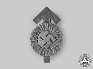 Germany, HJ. A Proficiency Badge, Silver Grade, by Karl Wurster