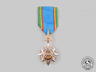 Thailand (Kingdom). A Most Noble Order of the Crown of Thailand, V Class Knight, c.1960