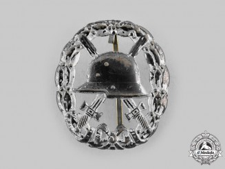 Germany, Imperial. A Field-Made Wound Badge, Silver Grade