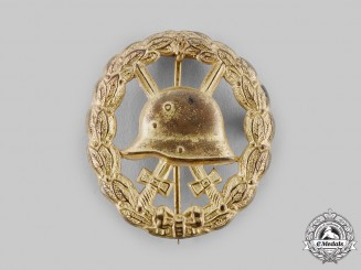 Germany, Imperial. A Wound Badge, Gold Grade, Cut Out Version