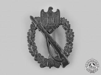 Germany, Wehrmacht. An Infantry Assault Badge, Silver Grade, by Gebrüder Schneider