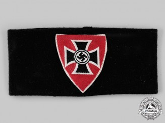 Germany, NSRKB A National Socialist Reich Warrior League (NSRKB) Member's Armband