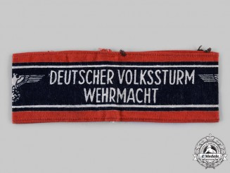 Germany, Third Reich. A Volkssturm Member's Armband