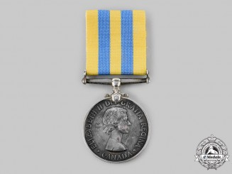 Canada, Commonwealth. A Korea Campaign Medal, to J.P. Houle