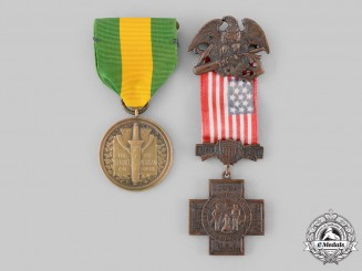 United States. Two Awards & Decorations