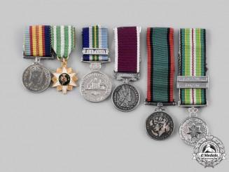 Australia, Rhodesia. A Lot of Six Miniature Medals