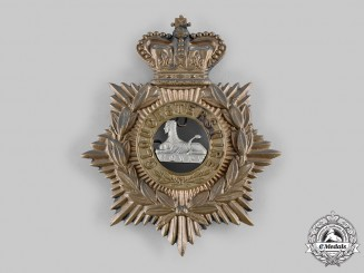 United Kingdom. A Gloucestershire Regiment Helmet Plate, c.1890