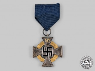 Germany, Third Reich. A Civil Service 50-Year Faithful Service Cross by Deschler & Sohn