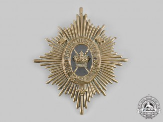 United Kingdom. A Light Cavalry Foreign Service Lancers Helmet Plate, c.1890