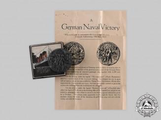 United Kingdom. A Lusitania Medallion with Carton