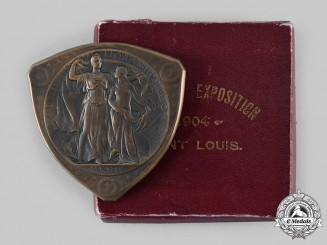United States. A Louisiana Purchase Exposition, Gold Grade Medal