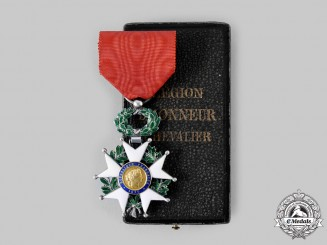 France, III Republic. An Order of the Legion of Honour, V Class Knight, c.1918