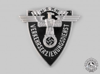 Germany, NSKK. A National Socialist Motor Corps (NSKK) Traffic Education Arm Badge