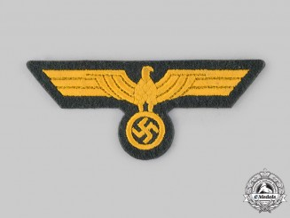 Germany, Kriegsmarine. A Coastal Artillery NCO's Breast Eagle