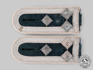 Germany, Heer. A Set of Infantry Stabsfeldwebel Shoulder Straps
