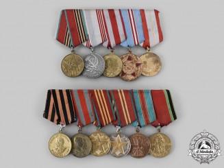 Russia, Soviet Union. Two Veteran's Groups