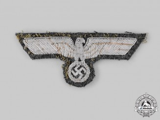 Germany, Heer. An Army Officer's Breast Eagle, Tunic Removed