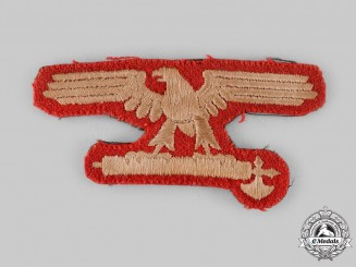 Germany, SS. An Italian SS EM/NCO's Sleeve Eagle