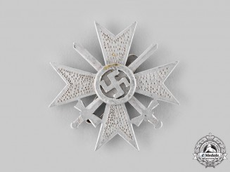 Germany, Wehrmacht. A Field-made War Merit Cross, I Class, in Aluminum