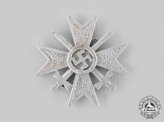 Germany, Wehrmacht. A Field-made War Merit Cross, I Class, in Aluminum