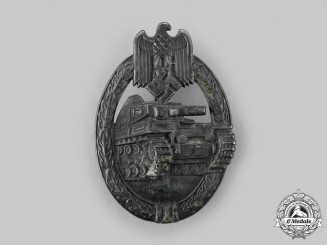 Germany, Heer. A Panzer Assault Badge, Bronze Grade, by Frank & Reif