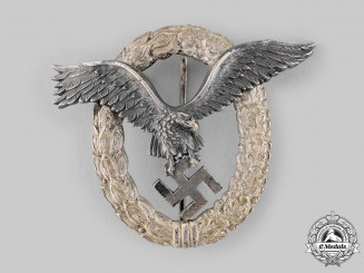 Germany, Luftwaffe. A Pilot's Badge by, C.E. Juncker
