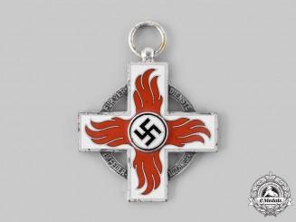 Germany, Third Reich. A Fire Brigade Honour Cross, II Class