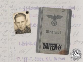 Germany, SS Totenkopf. A Wehrpaß To Dachau & Stutthof Guard