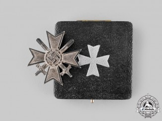 Germany, Wehrmacht. A War Merit Cross, I Class with Swords, with Case
