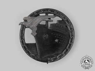 Germany, Kriegsmarine. A Blockade Runner Badge, by Schwerin