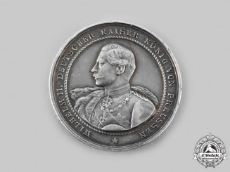 Prussia, Kingdom. A Wilhelm II Table Medal