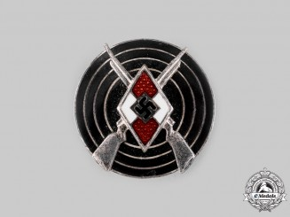 Germany, HJ. A Marksmanship Badge by Förster & Barth
