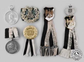 Prussia, Imperial. A Lot of Regimental Badges