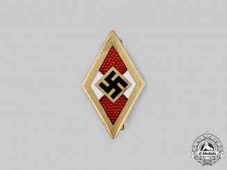 Germany, HJ. An Honour Badge by Franz Otto