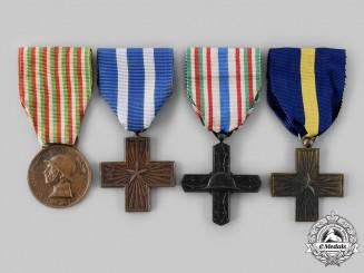 Italy, Kingdom, Republic. Four Awards