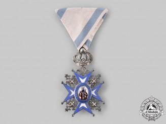 Serbia, Kingdom. An Order of St. Sava, V Class Knight, c.1918