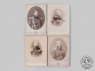 Russia, Imperial. A Lot of Photographs of Officers of the Russo-Turkish War
